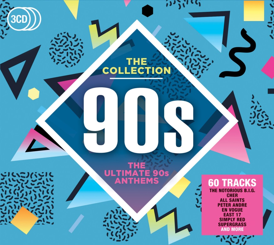 v/a - 90s: The ultimate 90s anthems 3CD